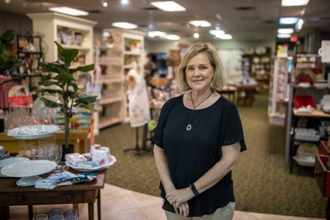 Lauren Teal, owner of My Favorite Things located on Market Street, has seen a steep decline in sales since the pandemic. She applied for the Leon CARES grant program.