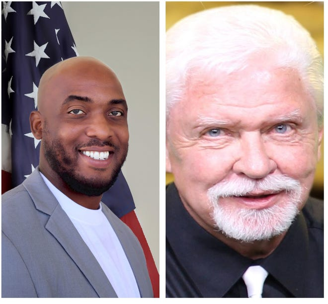 Monds Jr. (left) and Kelly (right) will face each other in a runoff election in November.