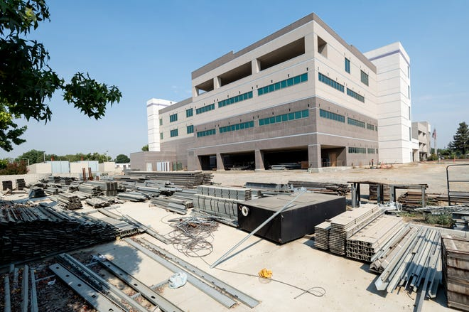 Tulare District Hospital on Tuesday, August 18, 2020.