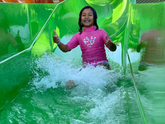 A triple-digit heat wave is driving people from their homes to waterparks, pools and anywhere they can cool down.