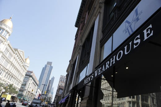 Men's Wearhouse, part of Tailored Brands, added buy online pickup in store, including curbside pickup Aug. 19.