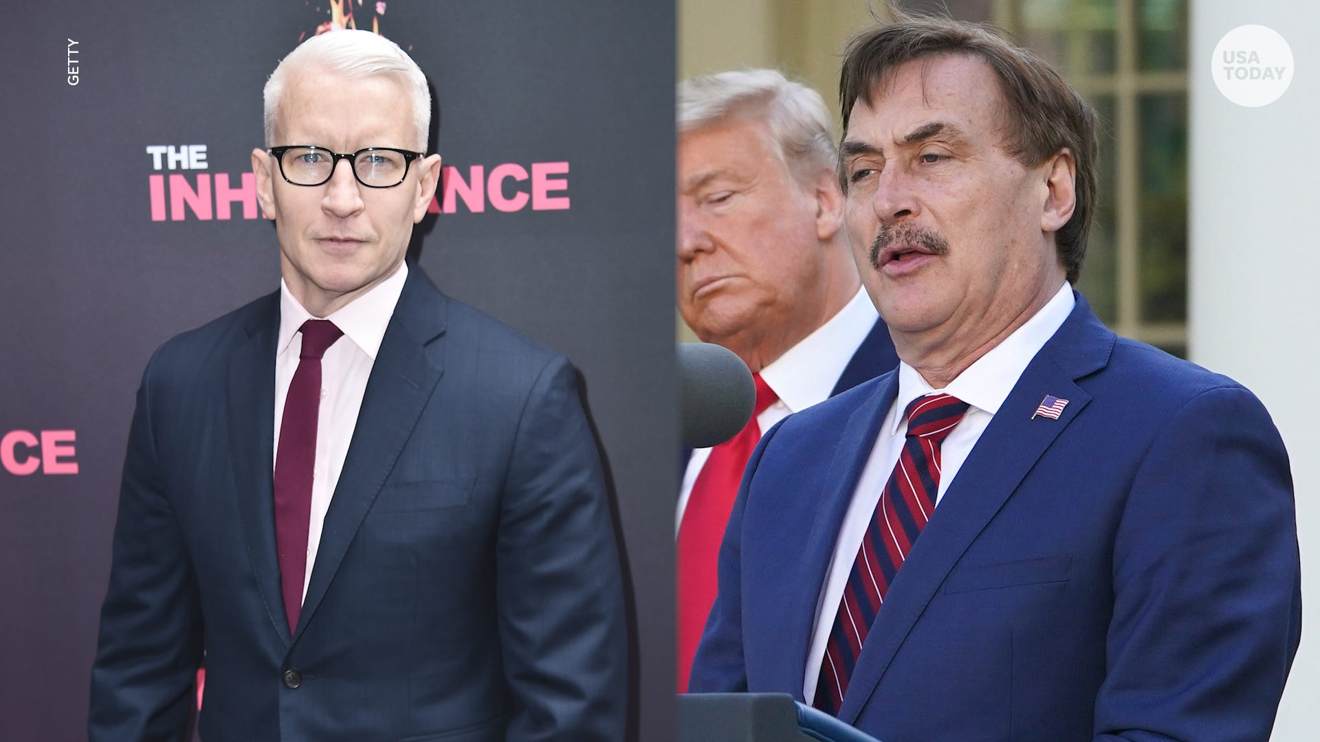 Anderson Cooper Mypillow Founder Mike Lindell Spar Over Covid Cure Claim