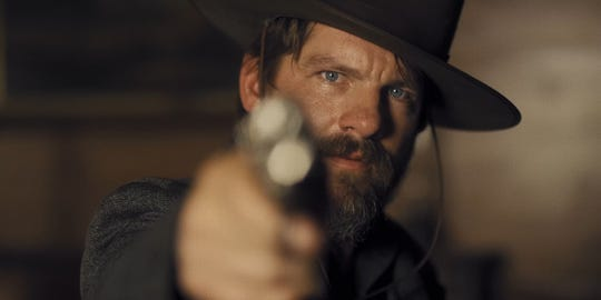 "Zachary Knighton stars as the leader of an outlaw gang who runs afoul of a coven of witches in the Western horror ""The Pale Door."""