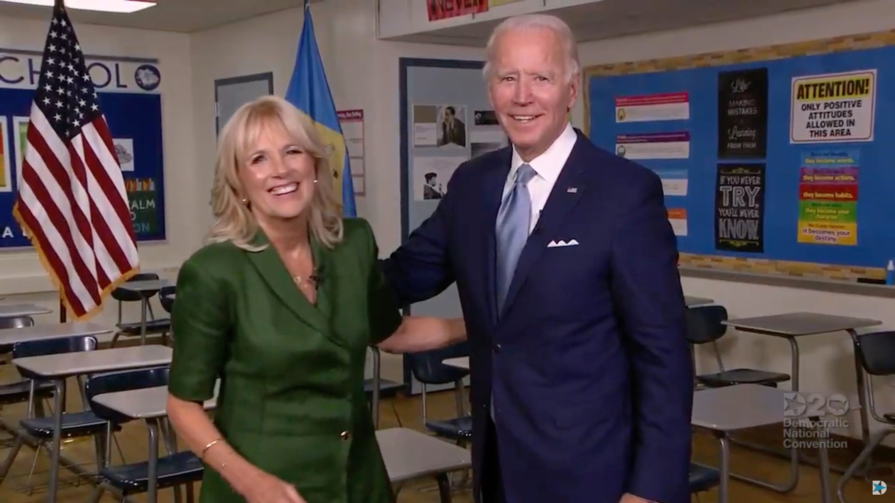 Dnc Top Moments Jill Biden Shares Intimate Portrayal Of Joe Biden Bill Clinton Hits Trump