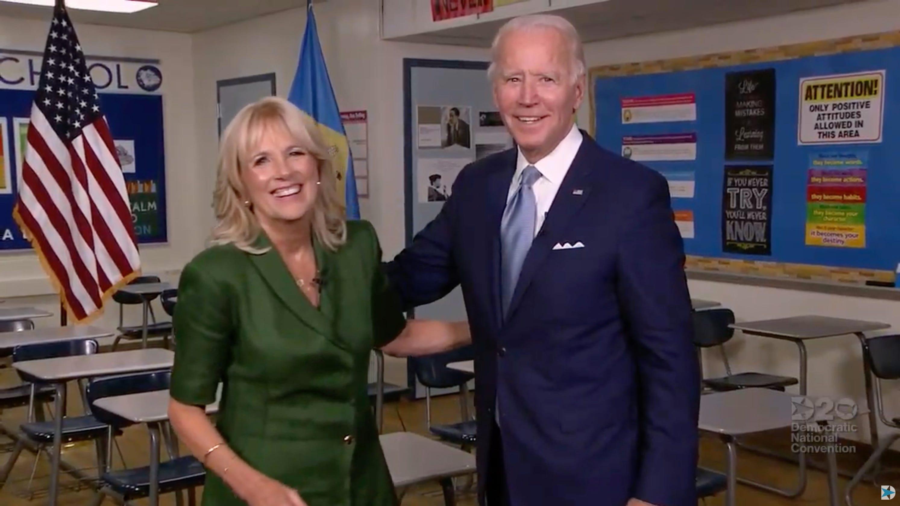 Dnc Top Moments Jill Biden Shares Intimate Portrayal Of Joe Biden Bill Clinton Hits Trump