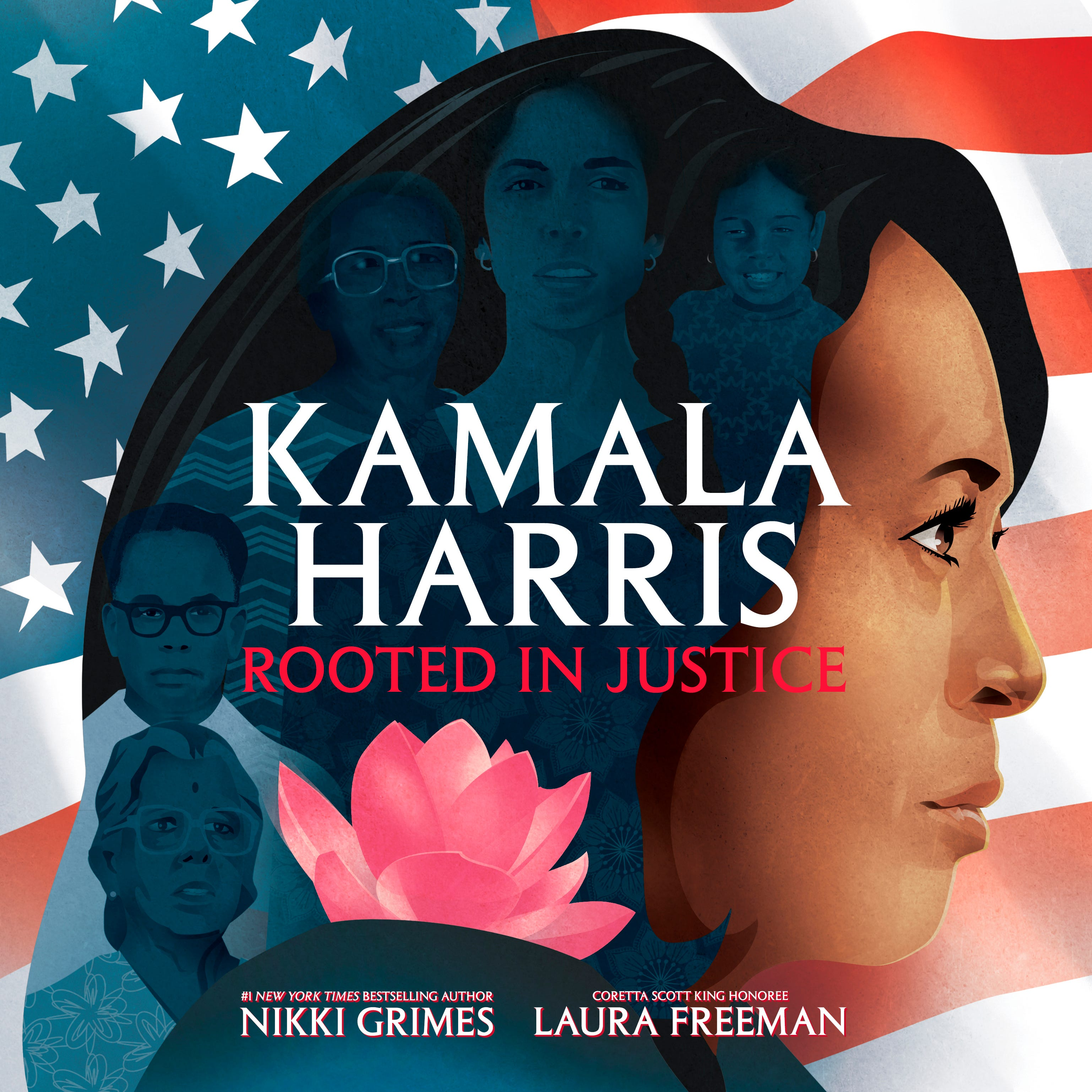 Kamala Harris children's picture book 'Rooted in Justice' coming soon