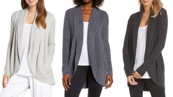 This cardigan is always a winner.