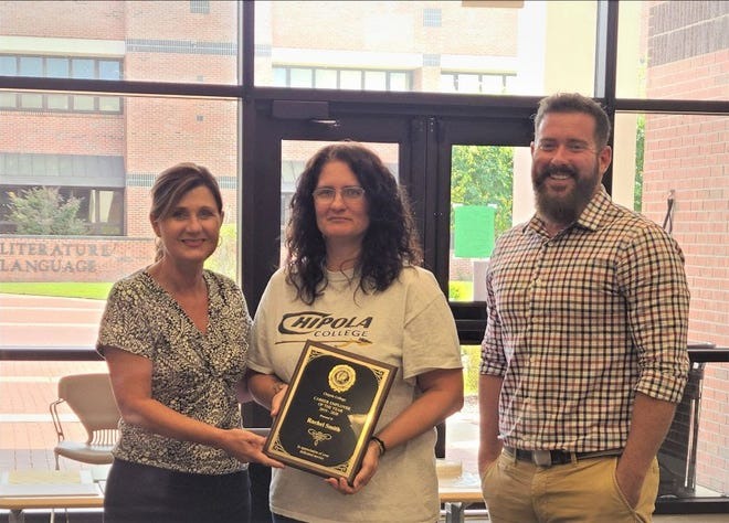 Rachel Smith, Chipola College's Senior Staff Assistant in Admissions and Registration Department, has been named the college's Career Employee of the Year for 2019 - 20