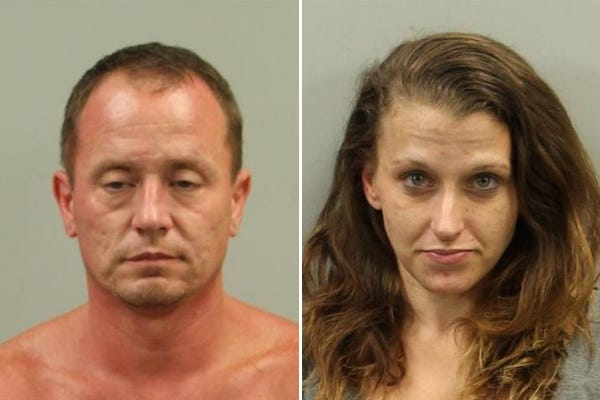Jason Lyndon Brown, 39, and Rebecca Louise Hyatt, 34.