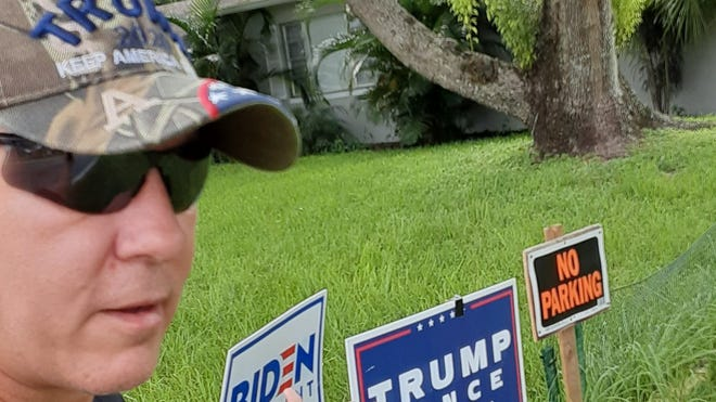 Trump Biden Fight Over Debary Yard Signs Leads To Punch Arrest