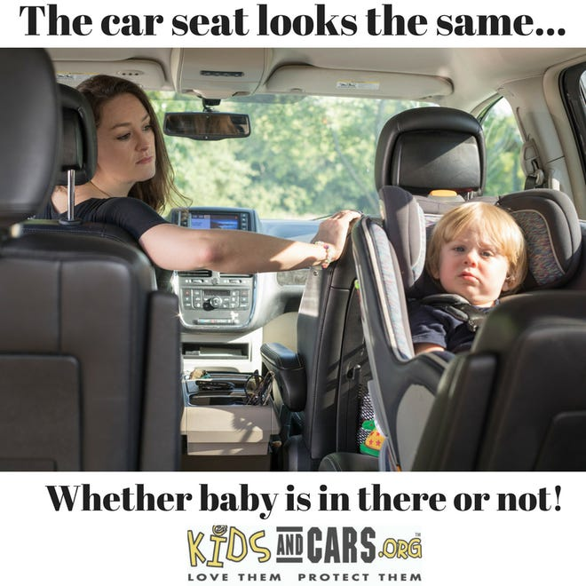 Kids and Cars wants to remind parents to not leave their children in hot cars.
