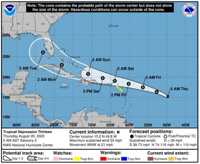 Tropical Depression 13