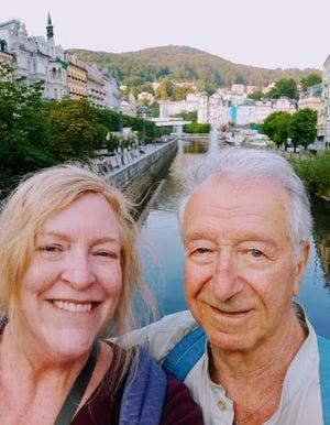 Julie Gray and Gidon Lev in Karlovy Vary (Czech Republic).