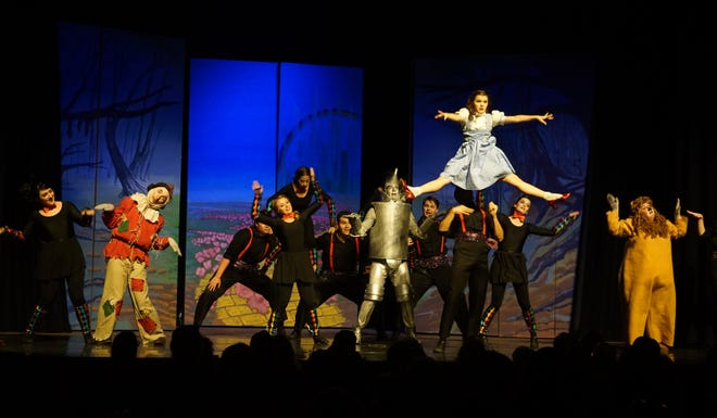 "Kenady Conforth in The Shedd's ""The Wizard of Oz."""