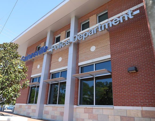 Gainesville Police Department headquarters.