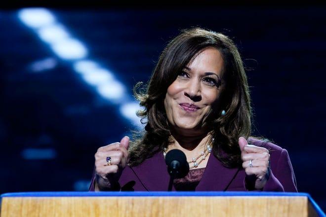 Democratic vice presidential candidate Sen. Kamala Harris
