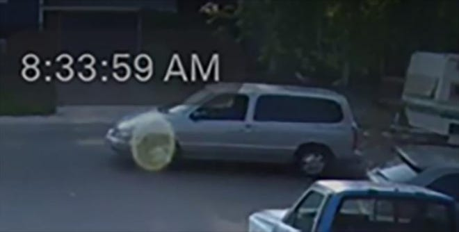 Fort Collins police say the man driving this van attempted to kidnap a child in a neighborhood near Timberline and Drake roads Thursday morning.