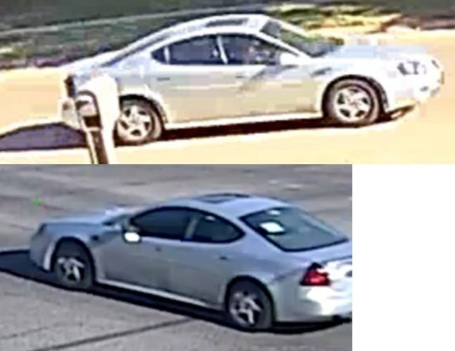 Iowa City Police shared images of a light-colored sedan that was seen leaving a reported shooting Aug. 19, 2020, on Taylor Drive in Iowa City.