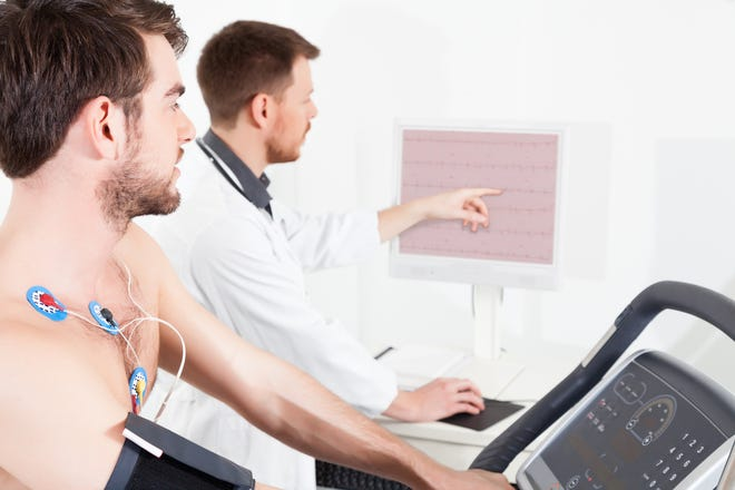 A doctor will order a stress test if someone is experiencing chest pain, shortness of breath or arrythmia or if they are having surgery and the test is needed for cardiac clearance.