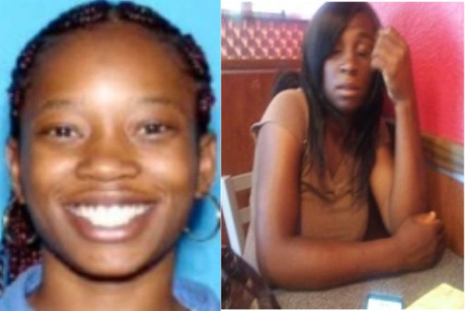 Aubrina Mack, left, and Donna Calloway went missing in Montgomery, Alabama. If you have any knowledge of there whereabouts contact the Montgomery Police Department at 334-242-2651 or 334-241-2350.