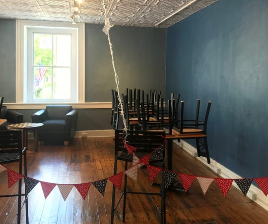 A roped off seating area and turned-over chairs is not a typical site in a newly-opened, bustling coffee shop. But the COVID-19 pandemic has forced Swatara Coffee Co. to make some major adjustments to their business.