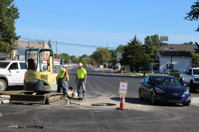 Last year, crews completed a major reconstruction project along a portion of Jefferson Street near downtown Port Clinton.
