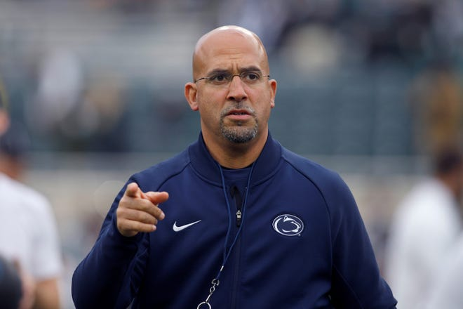 Penn State head coach James Franklin