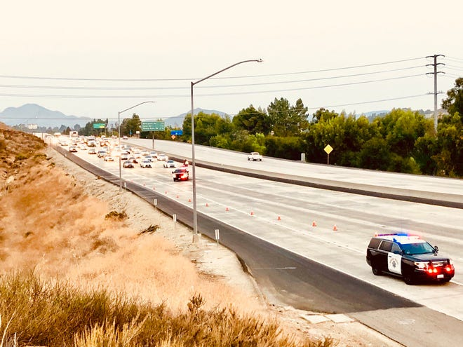 Portions Highway 23 at Janss Road in Thousand Oaks were closed Thursday morning after a fatal incident.