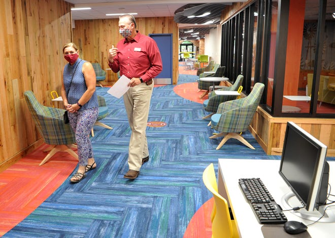 Midwestern State University opened its recently remodeled Moffet Library up for Tour Thursday.
