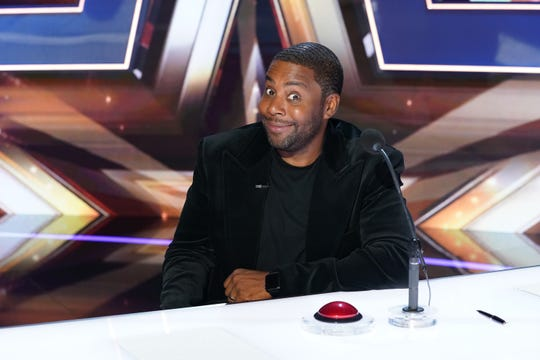 "Kenan Thompson filled in Simon Cowell on ""America's Got Talent."""