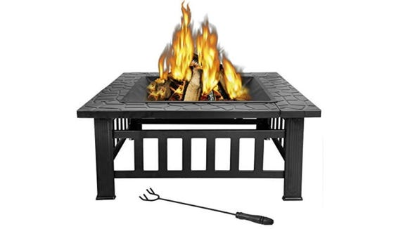 Shopping for fire pits doesn't have to be the pits. Case in point, this one.