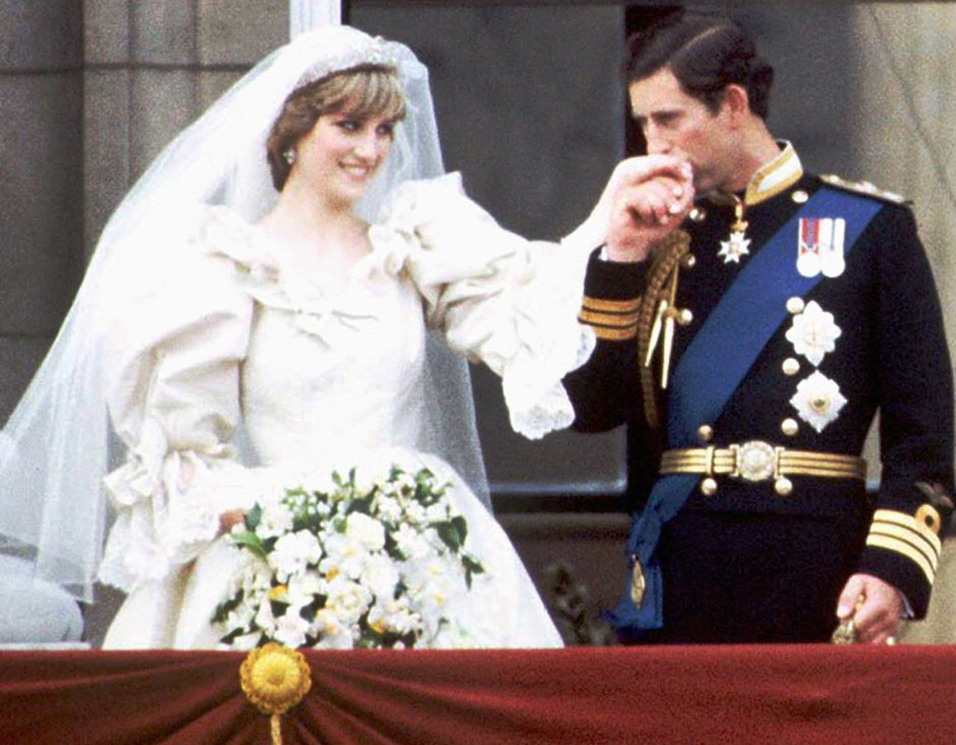 princess diana wedding veil