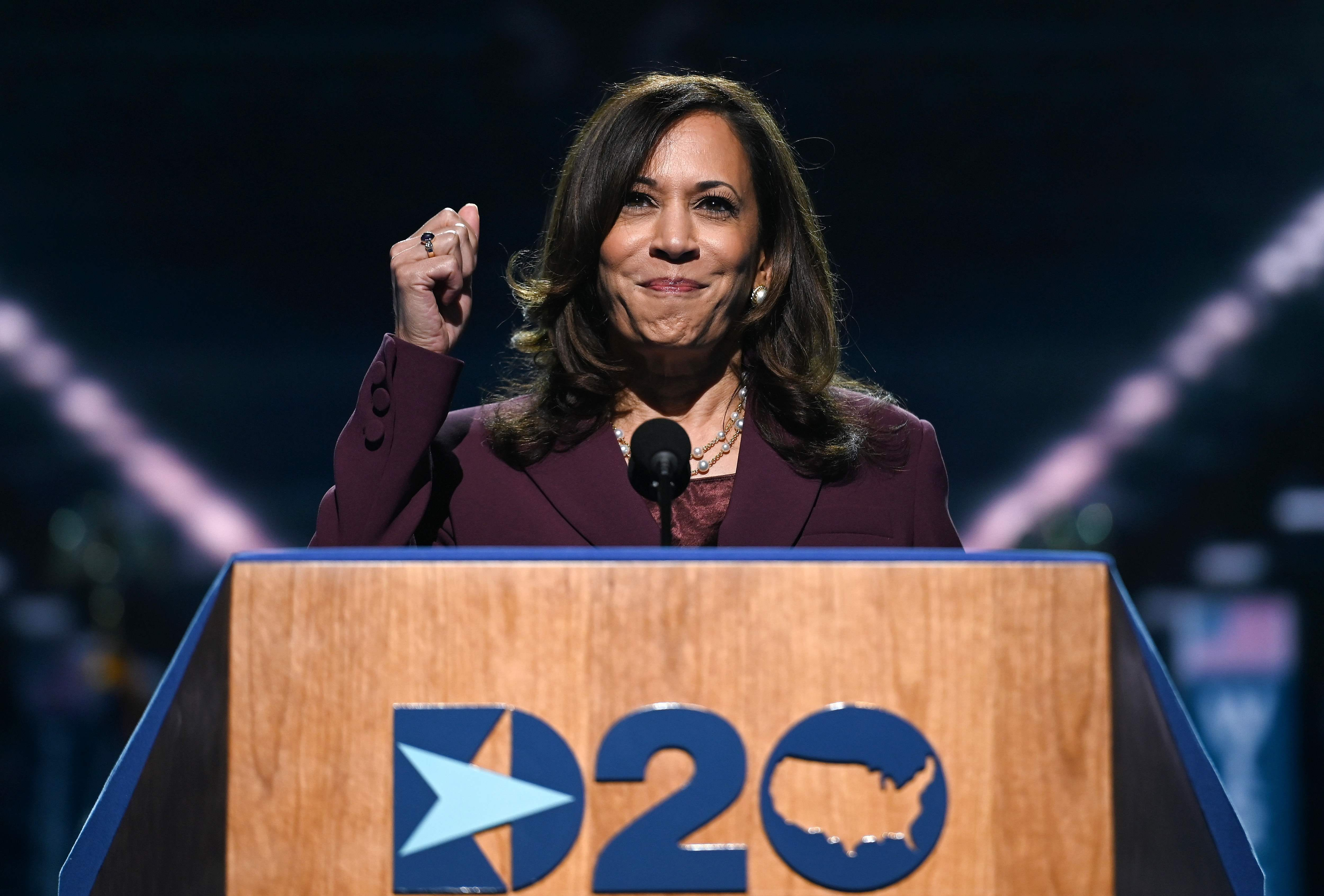 Kamala Harris Makes History In Dnc Vice Presidential Acceptance Speech