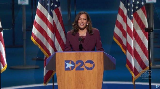 Dnc With Joe Biden Kamala Harris Nominated Focus Turns To Election