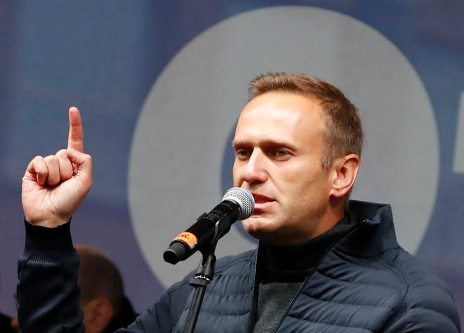 Russian opposition leader Alexei Navalny's detention has sparked widespread protests across Russia.