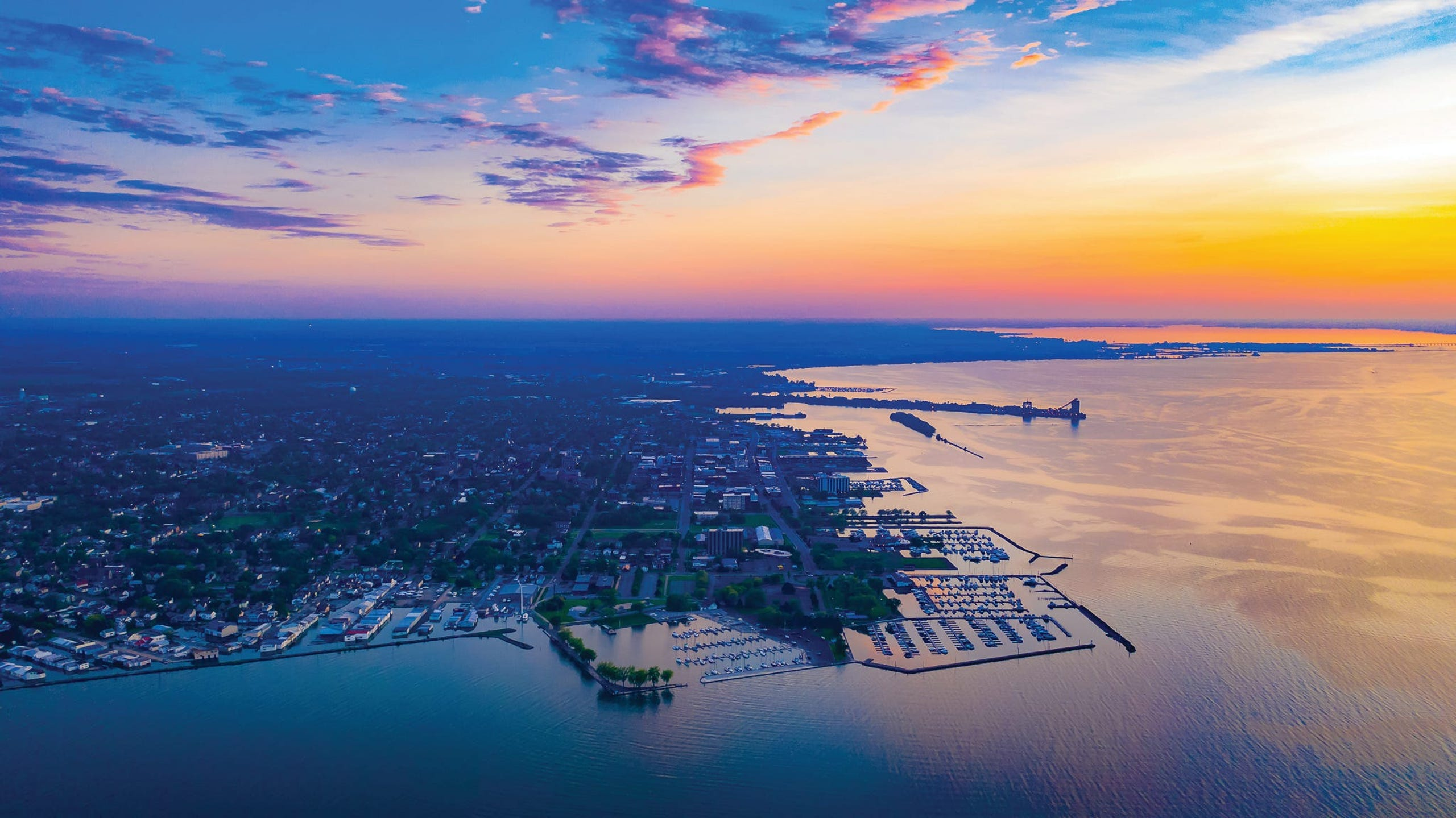 <strong>10. Sandusky, Ohio.</strong> Located midway between Cleveland and Toledo, Sandusky is one of Ohio&rsquo;s best lakeside escapes. Visitors will find a revitalized downtown district with plenty of shopping and dining options, recreation on Lake Erie, wine tasting and some of the world&rsquo;s best roller coasters at Cedar Point.