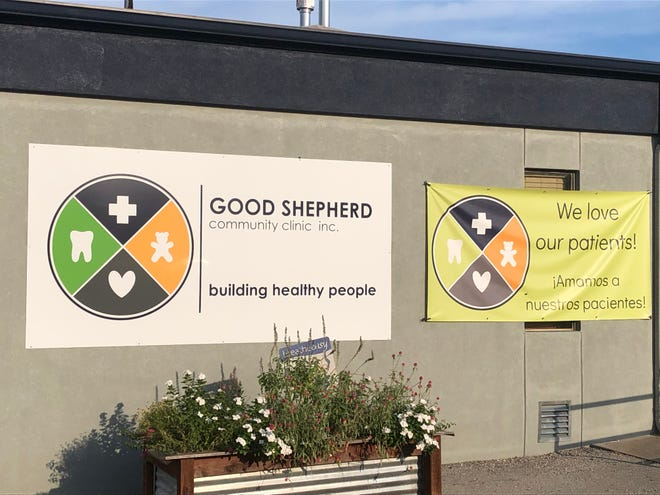The Good Shepherd Community Clinic's location on 12th Avenue Northwest in Ardmore.
