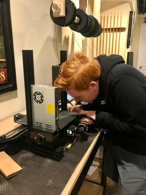 Pennridge High School junior Matthew Genatempo is among the TD Bank Young Heroes Award winners, in recognition for his efforts to use his 3-D print to make PPE.
