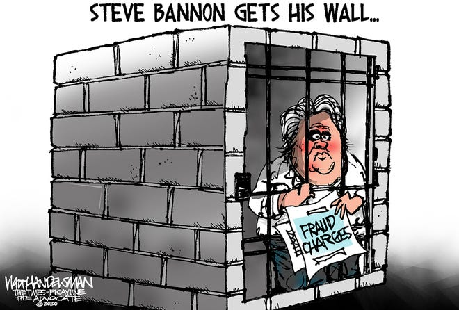 Steve Bannon gets his wall.