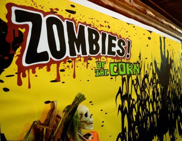 Zombies of The Corn returns next month to Three Rivers Paintball in New Sewickley Township.