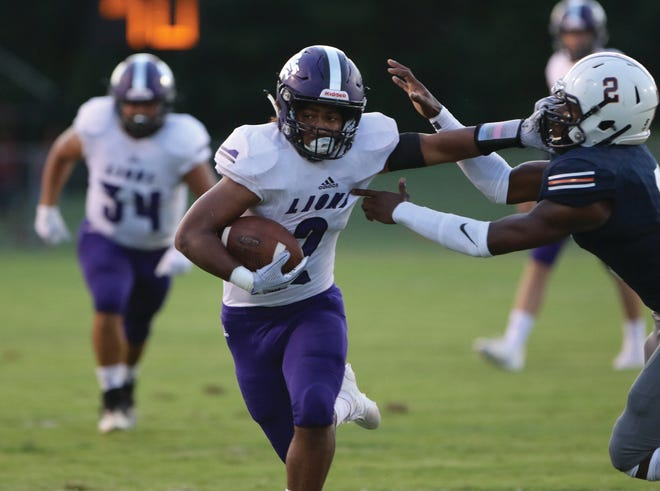 Christian Biggers had his second 100-yard effort in as many weeks Friday, rushing for 131 yards and a touchdown as Columbia Central won 21-0 at Dickson County