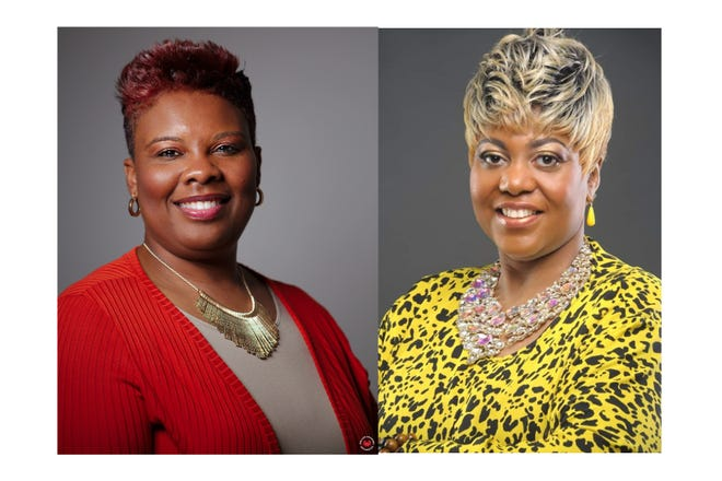 Tracy Palmer (left) and Alisha Broughton each manage ministries where they host food or clothing giveaways and aim to uplift members of the community. They're joining forces in a combined community giveaway Saturday, Aug. 22.