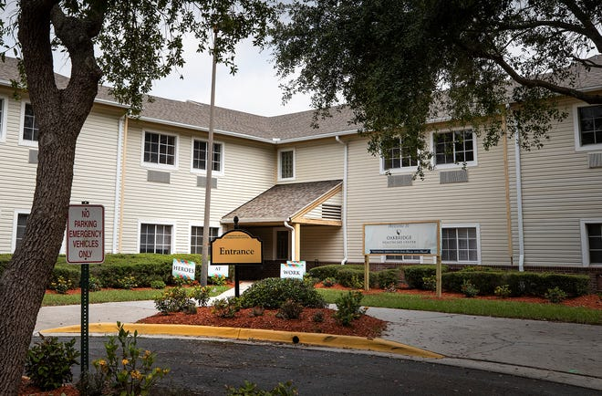 Oakbridge Healthcare Center was named as the state's designated  COVID-19 Isolation Center in late May to serve patients from Polk, Hardee, Highlands, Hillsborough and Manatee counties. The facility's troubled history with federal and state health care regulations raised concerns among some of The Ledger's readers. ERNST PETERS/THE LEDGER