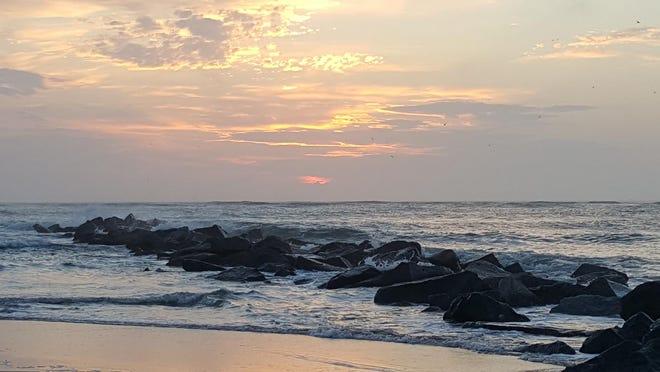 Vilano Beach sunrise.