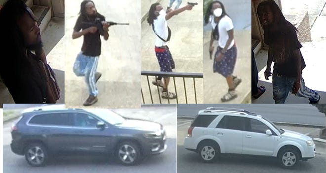 Fayetteville Police Department detectives ask the public to help identify suspects in an Aug. 17, 2020, shooting at the Quality Inn.