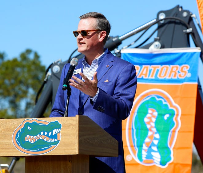 Florida athletic director Scott Stricklin is dealing with financial issues brought on by COVID-19.