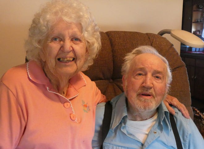June and Clifford Scott of Sycamore will celebrate their 73rd wedding anniversary on Aug. 22, 2020.