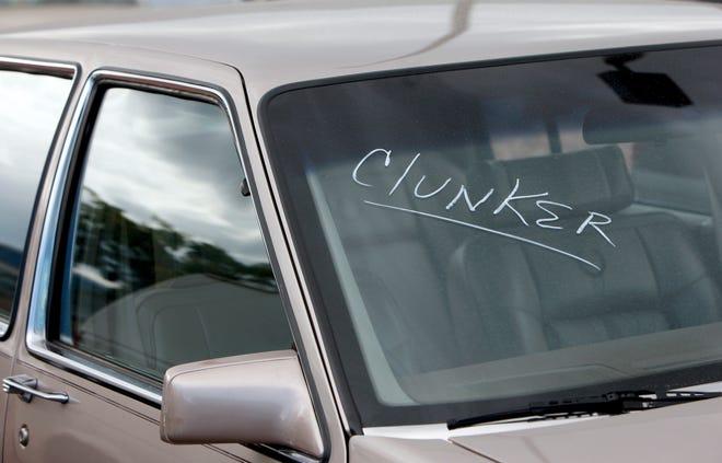 Clunker car (AP Photo/David Zalubowski)