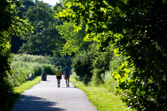 A planned shared-use trail will connect Glenwood Gardens with the Harbor Loop Trail in Winton Woods. Great Parks of Hamilton County will discuss the project at a virtual meeting April 1.