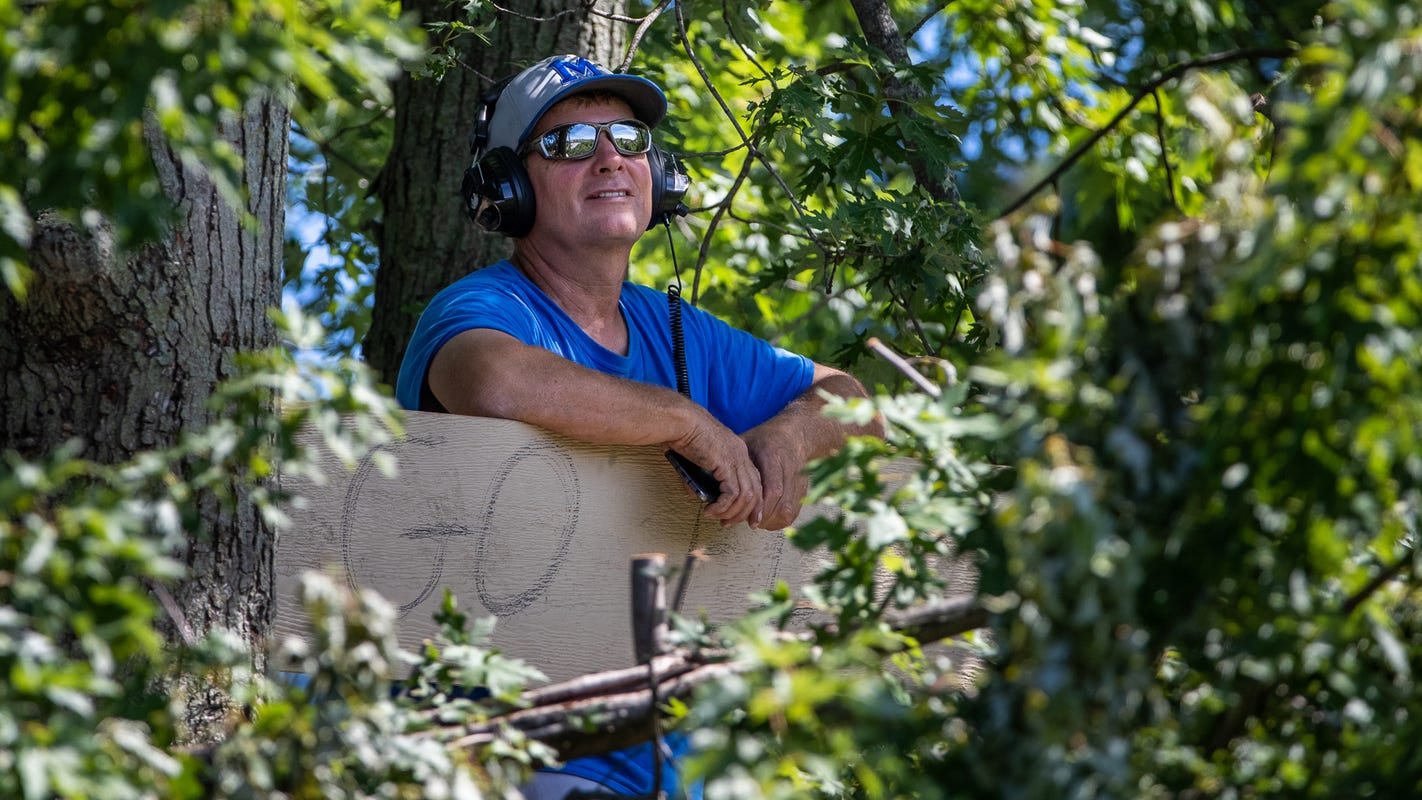 The guy who watched 2020 Indy 500 from a tree reflects on the day: 'I had to turn people away'